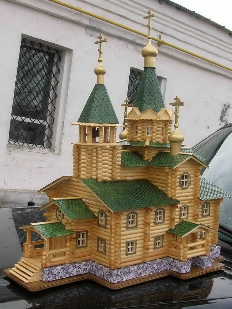 Церковь своими руками строительство